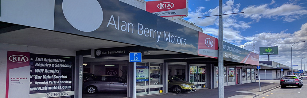 Alan Berry Motors frontage 1000x320