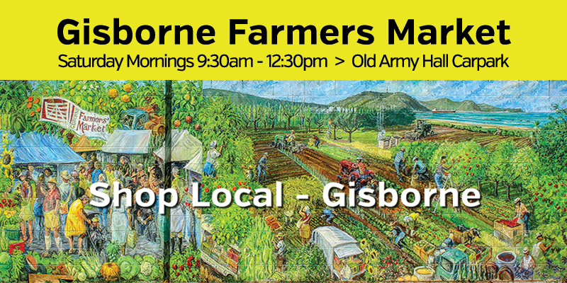 Gisborne Farmers Market - Shop Local in Gisborne