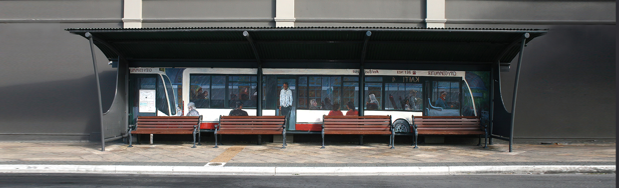 Gisborne Mudge Bus Shelter 1970602